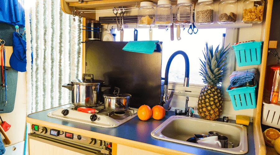 23 Caravan Kitchen Accessories You Need For Your RV Adventures